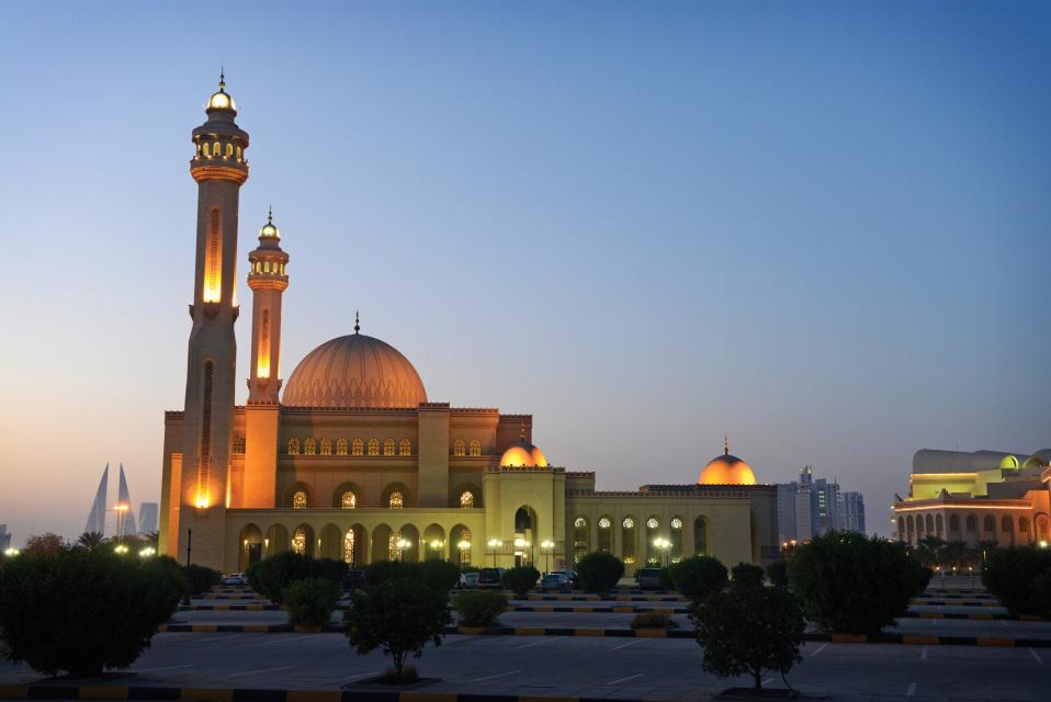 Al Fateh Grand Mosque Bahrain Bfg Architecture