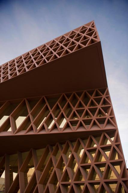 Al Khalifiyeh Library Bahrain Bfg Architecture